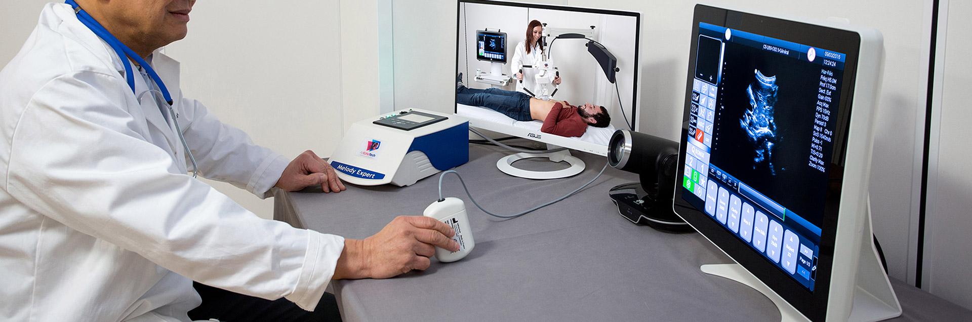 tele-ultrasonography